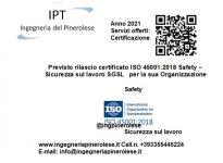 03 Certificazione ISO 45001 SGSL Sicurezza sul Lavoro Safety